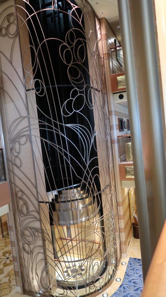 Disney Dream Empty Elevator