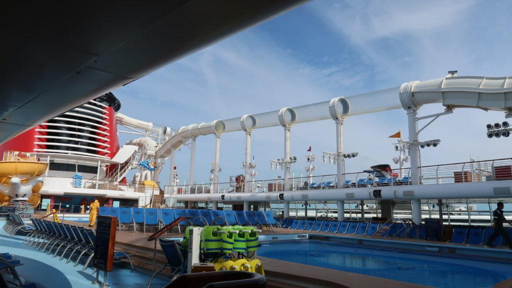 Disney Dream Empty Pool Deck