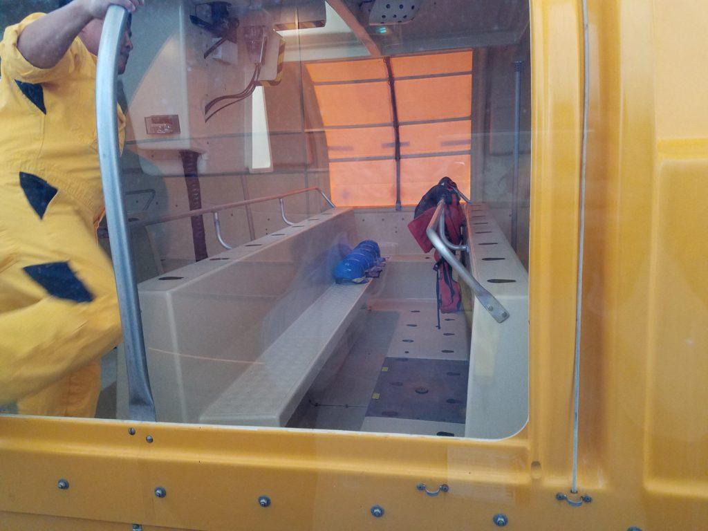 Disney Dream Lifeboat Interior